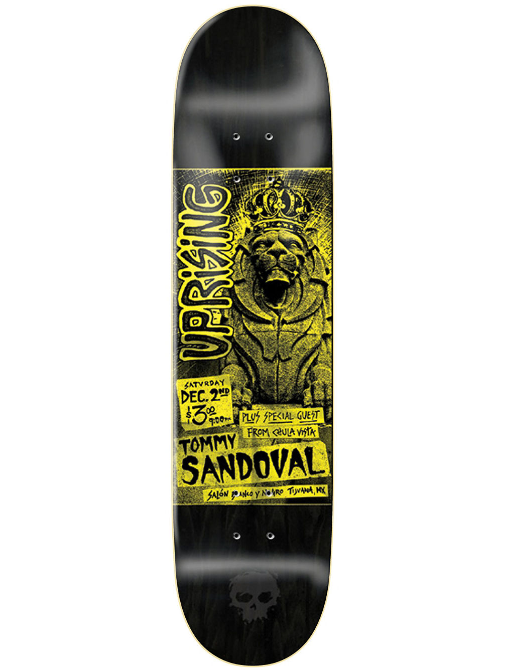Sandoval Punk Flyer 8.125 Skate Deck