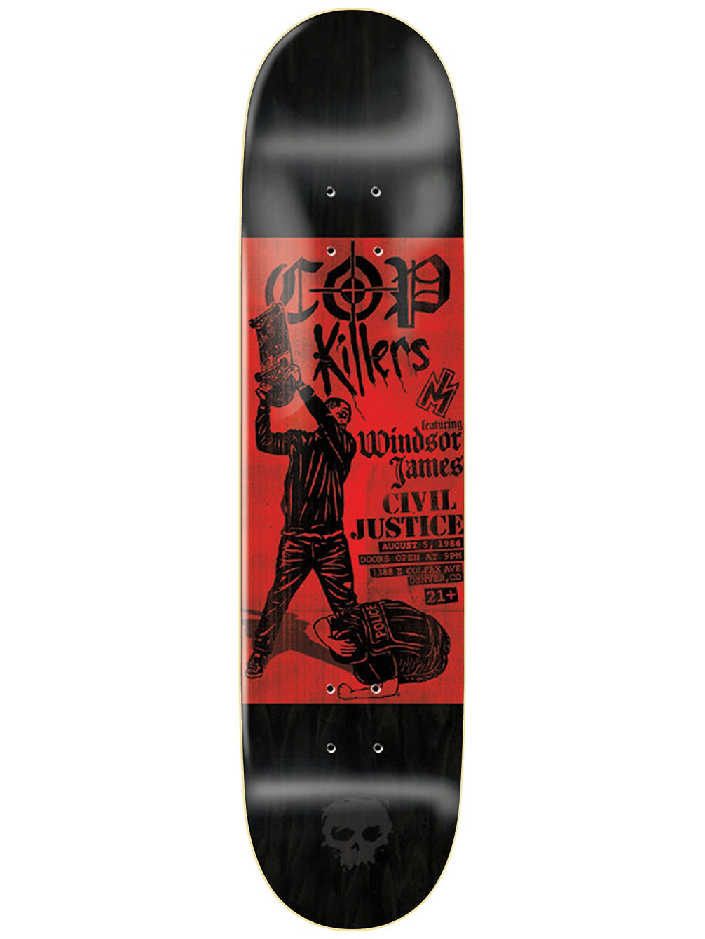 "Windsor Punk Flyer 8.25"" Skate Deck"