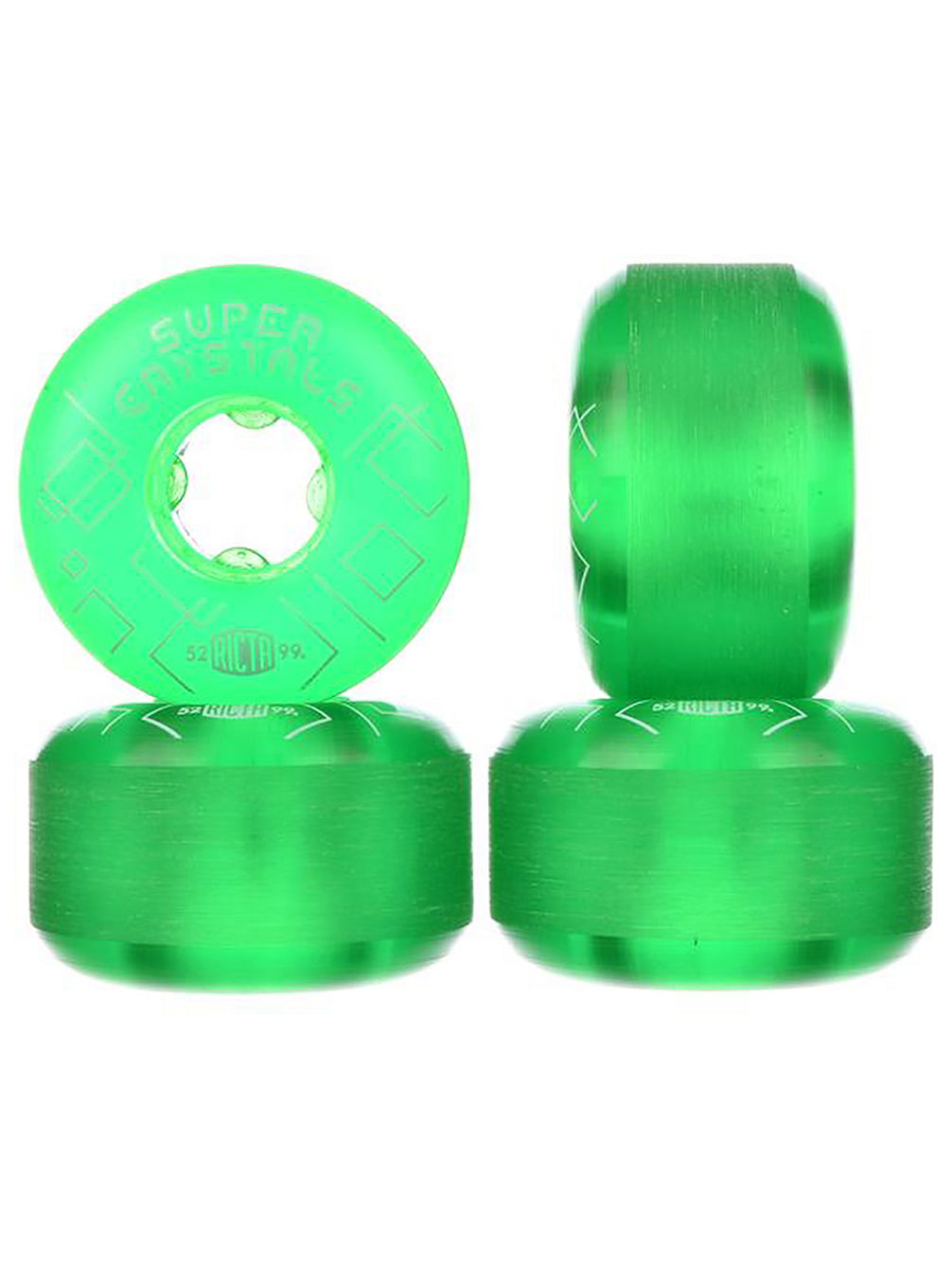 Super Crystals 99A 52mm Wheels