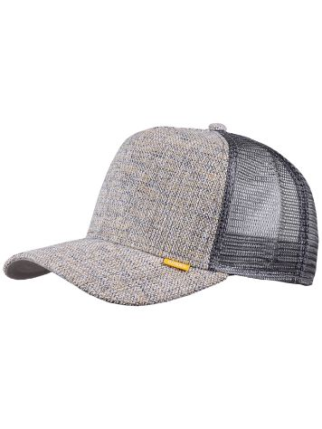 Djinns Colored Linen Trucker Cap