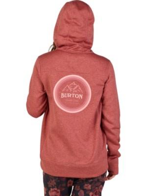 Burton Oak Hoodie marsala heather Gr. S