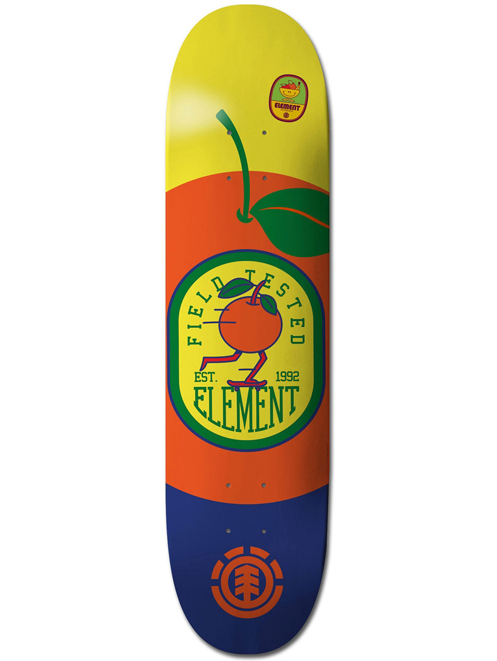 "Yawye Orange 8"" Skate Deck"