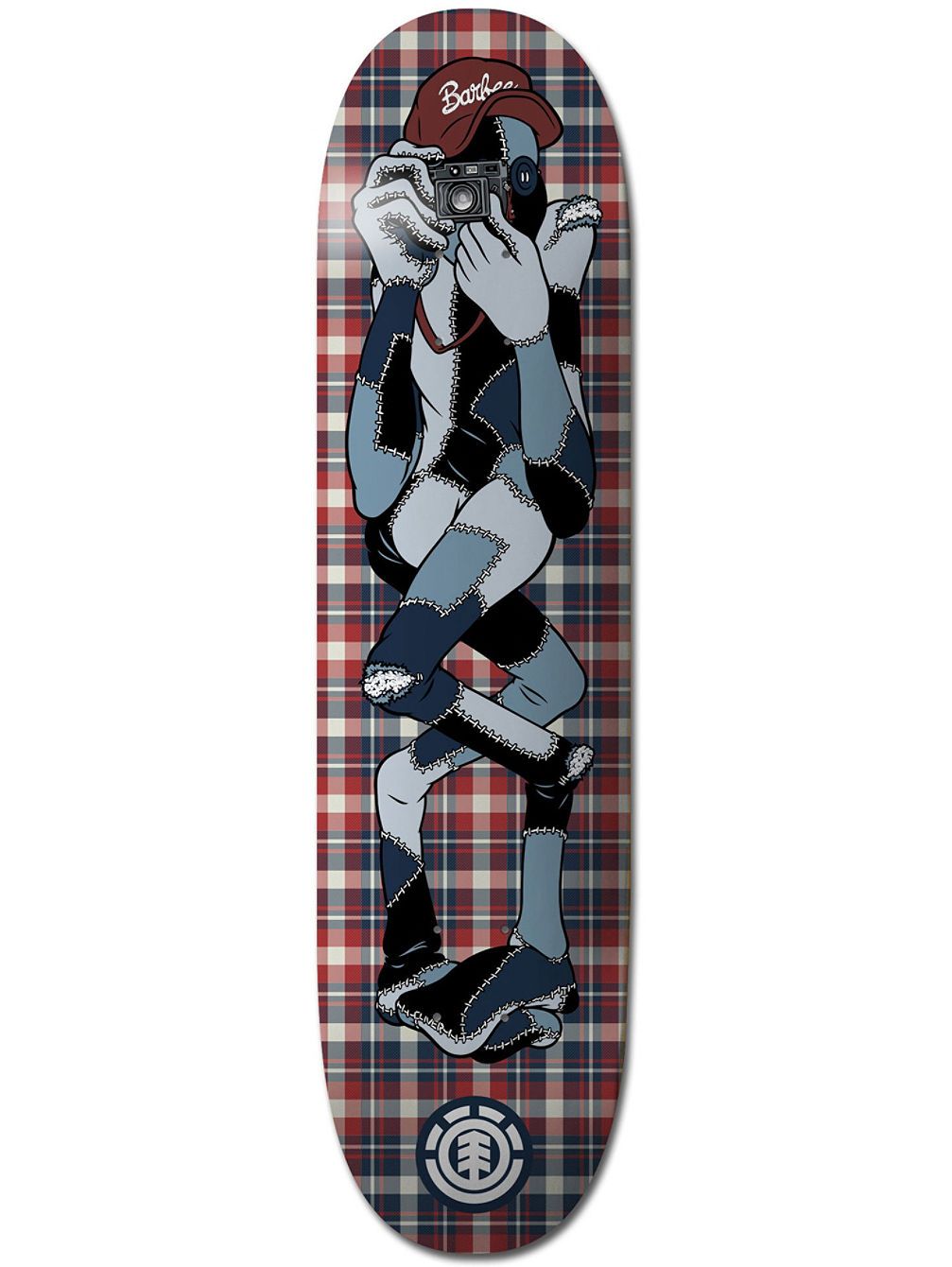 "Barbee Goodwin 8.2"" Skate Deck"