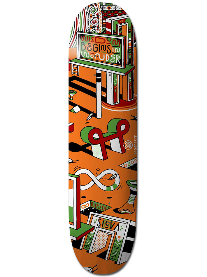 """COMPLETE SKATEBOARD CLASSIC EAGLE MED ORANGE 7.75/"""" INCH ANTI HERO SKATEBOARDS"""