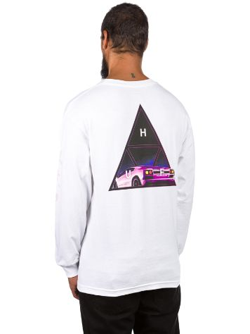 HUF Night Call Triple Triangle T-Shirt LS