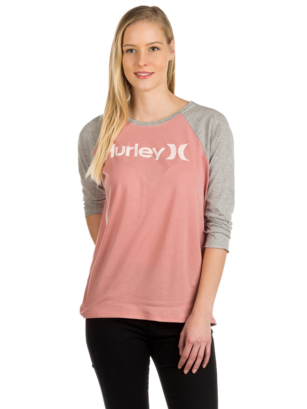 One And Only Perfect Raglan T-Shirt LS
