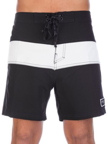 Pukas Black On White Boardshorts