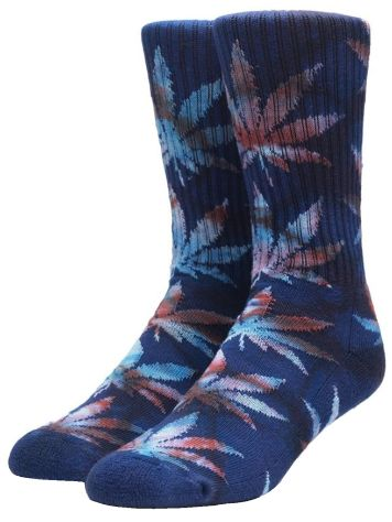 HUF Tiedye Leaves Plantlife Socks