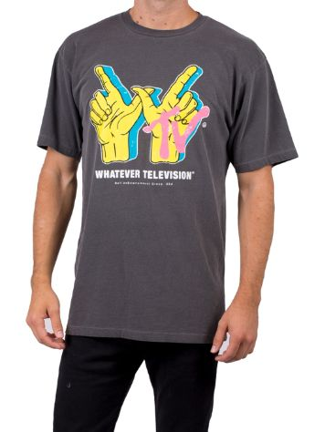 Neff Whatever Tv Wash Vintage Dye T-Shirt