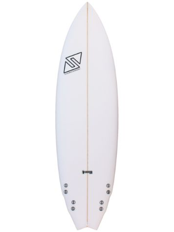 Twins Bros Jhonny Fish Future 5.10 Surfboard
