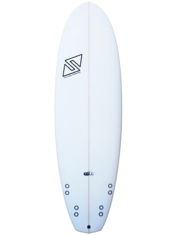 Twins Bros The Pill FCS2 5.10 Surfboard