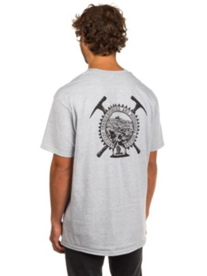 Antihero Backfill History T-Shirt athletic heather Gr. S