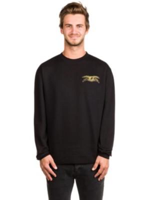 Antihero Stock Eagle Patch Sweater black Gr. S