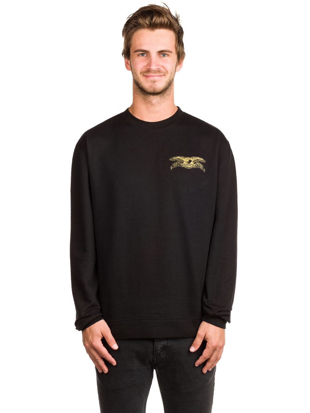 Stock Eagle Patch Sweater