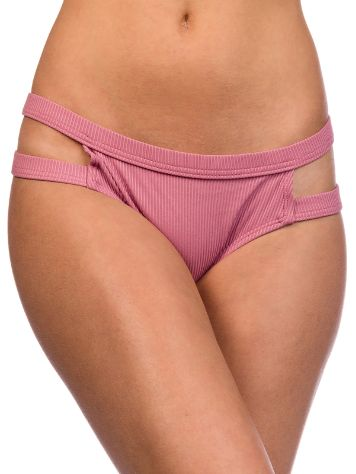 Malibu Retro Rib Cheeky Hipster Bikini Bottom