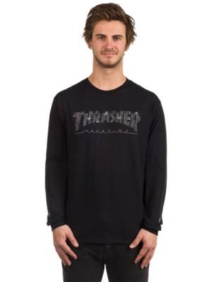 Thrasher Web T-Shirt LS black Gr. S