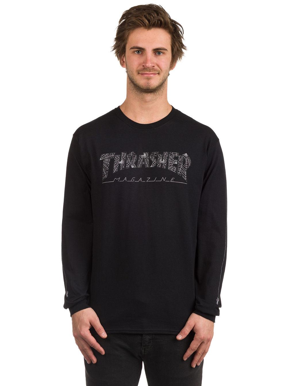 78f6c545aca8 Buy Thrasher Web Long Sleeve T-Shirt online at Blue Tomato