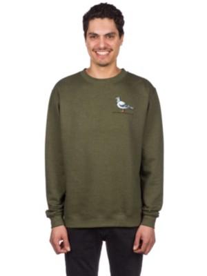 Antihero Lil Pigeon Sweater army heather Gr. M