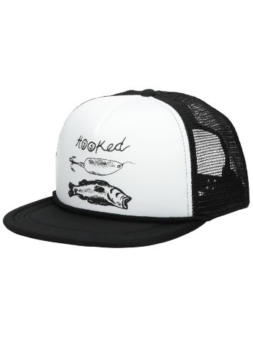 Captain Fin Hooked Foam Trucker Hat Cap