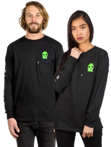 Rip N Dip Lord Alien Pocket T-Shirt LS