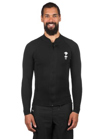 Billabong 2/2 Revo Pumpr FrontZip Rash Guard