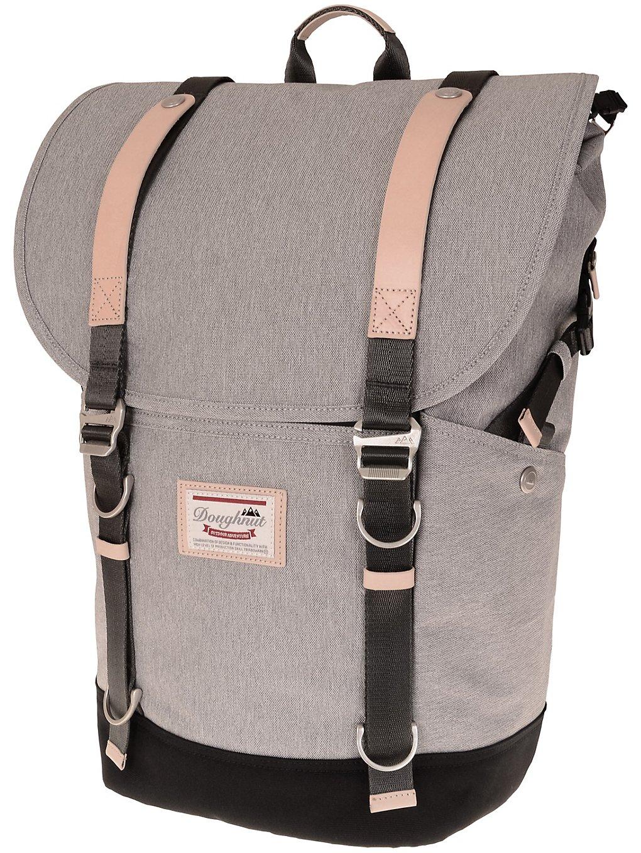 Image of Doughnut Denver Backpack light grey x black Uni