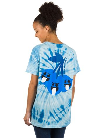 Pink Dolphin Ghost Cherry Blue Tie Dye Camiseta