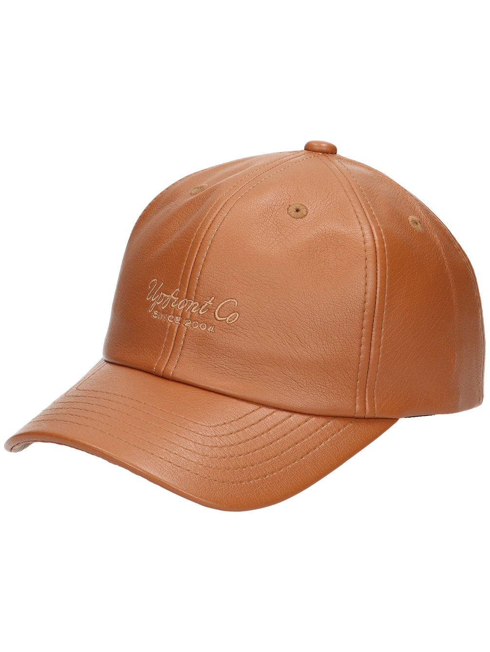 Bedford Leather Baseball Cap
