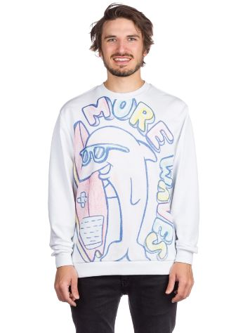 Pink Dolphin More Waves Crewneck Jersey
