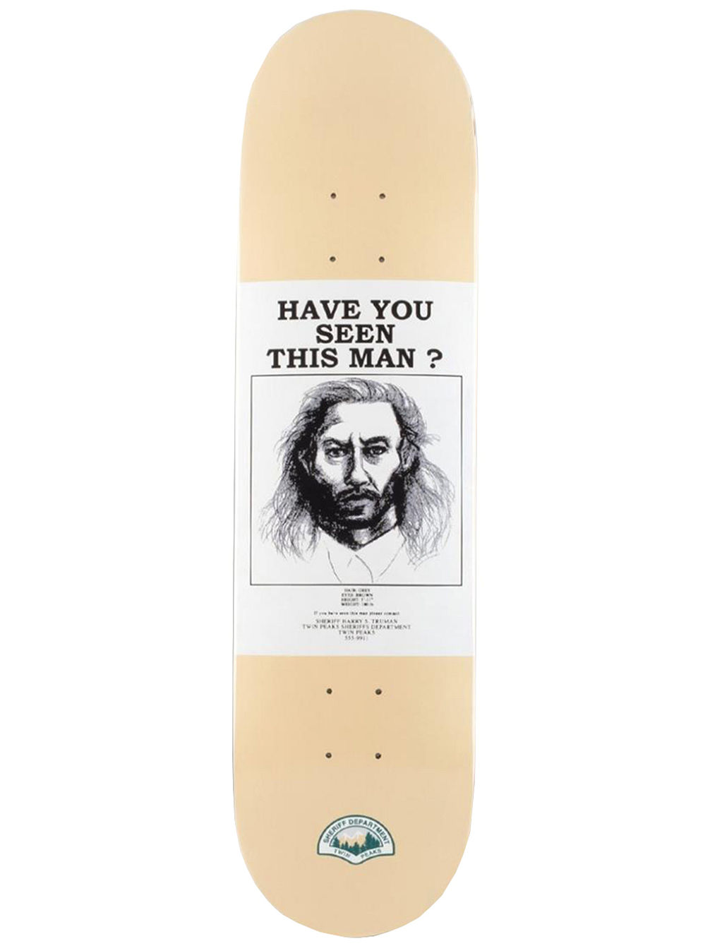 Have You Seen Bob 8.5'' Skate Deck