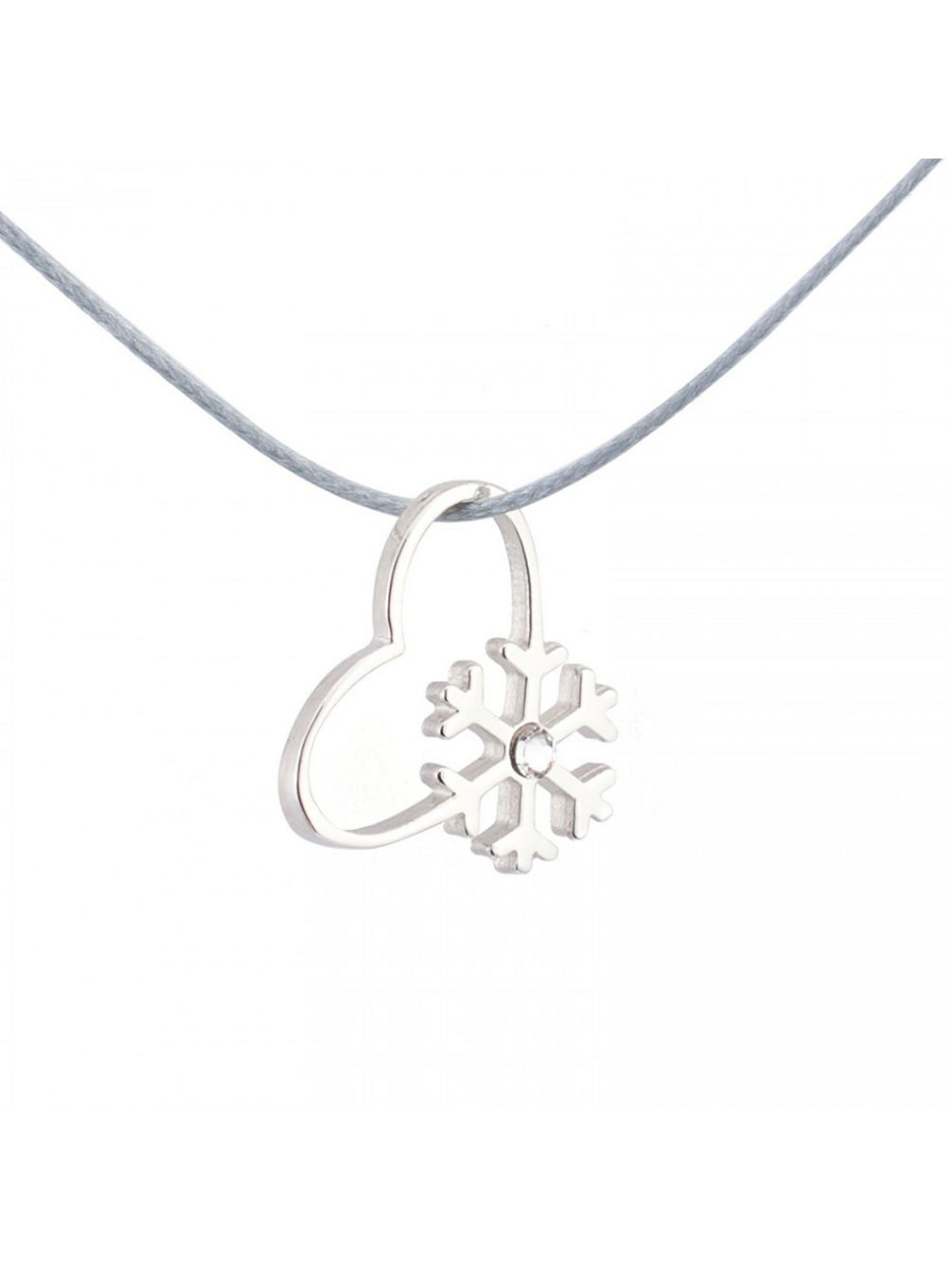Snow Love Diamond Necklace