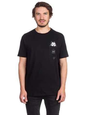 HUF X Felix The Cat Watching Pocket T-Shirt