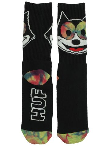 HUF X Felix The Cat Hypnotized Crew Calcetines