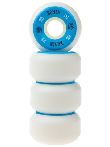 Bones Wheels 100'S Og #1 V5 100A White 53mm Rollen