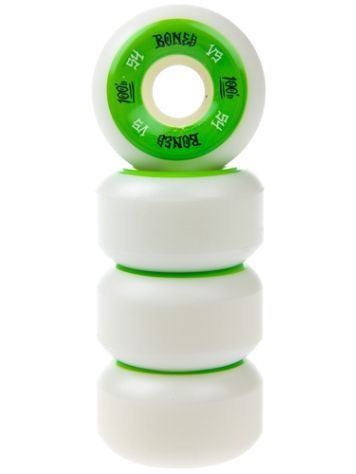 Bones Wheels 100'S Og #1 V5 100A White 54mm Rollen