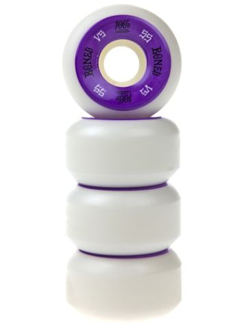 Bones Wheels 100'S Og #1 V5 100A White 55mm Wheels