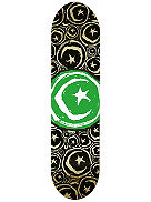 "Star And Moon Stickered 8.375"" Skate Deck"