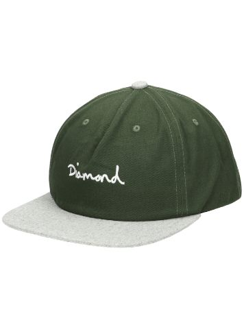 Diamond OG Script Two Tone Snapback Cap