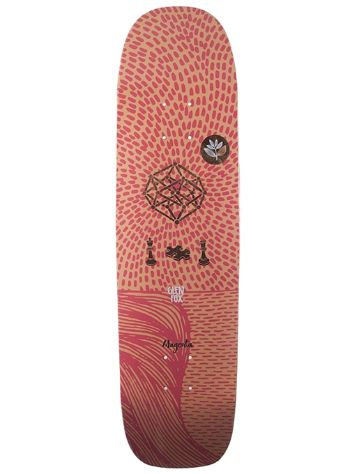 Magenta Glen Fox M Square 8.12'' Skate Deck