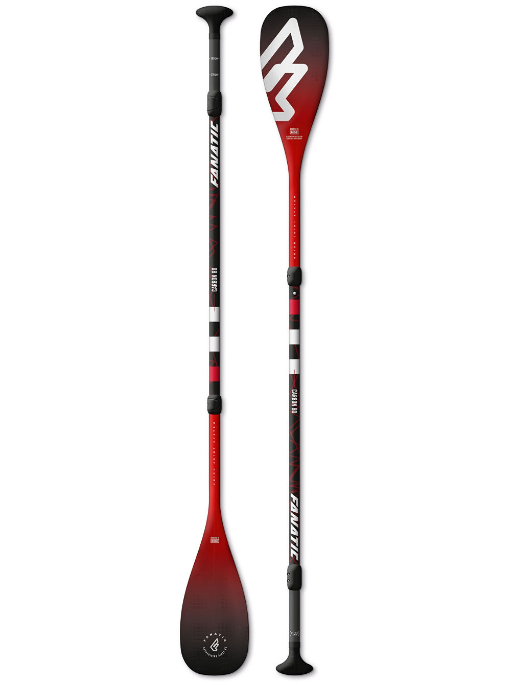 Carbon 80 Adjustable 3-Piece 7.25 Paddle