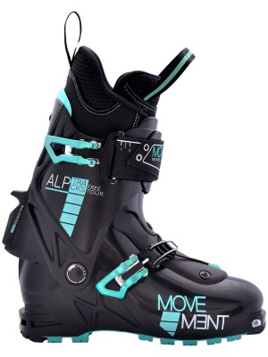 Movement Free Tour 2018 black / turquoise Gr. 25.5 MP