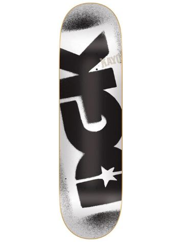 "DGK Price Point White 8.5"" Skate Deck"