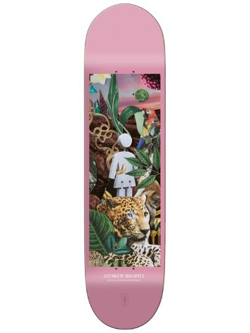 "Girl Jungle Series Andrew Brophy 8.25"" Skate Deck"