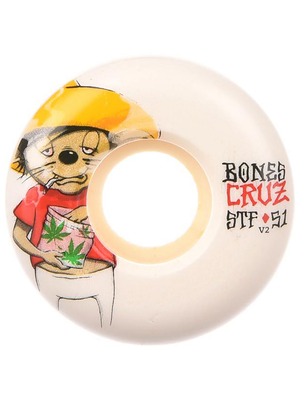 Stf Cruz Weedy 83B V2 53mm Wheels
