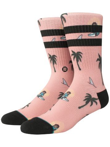Stance Surfin Sunsets Monkey Socks