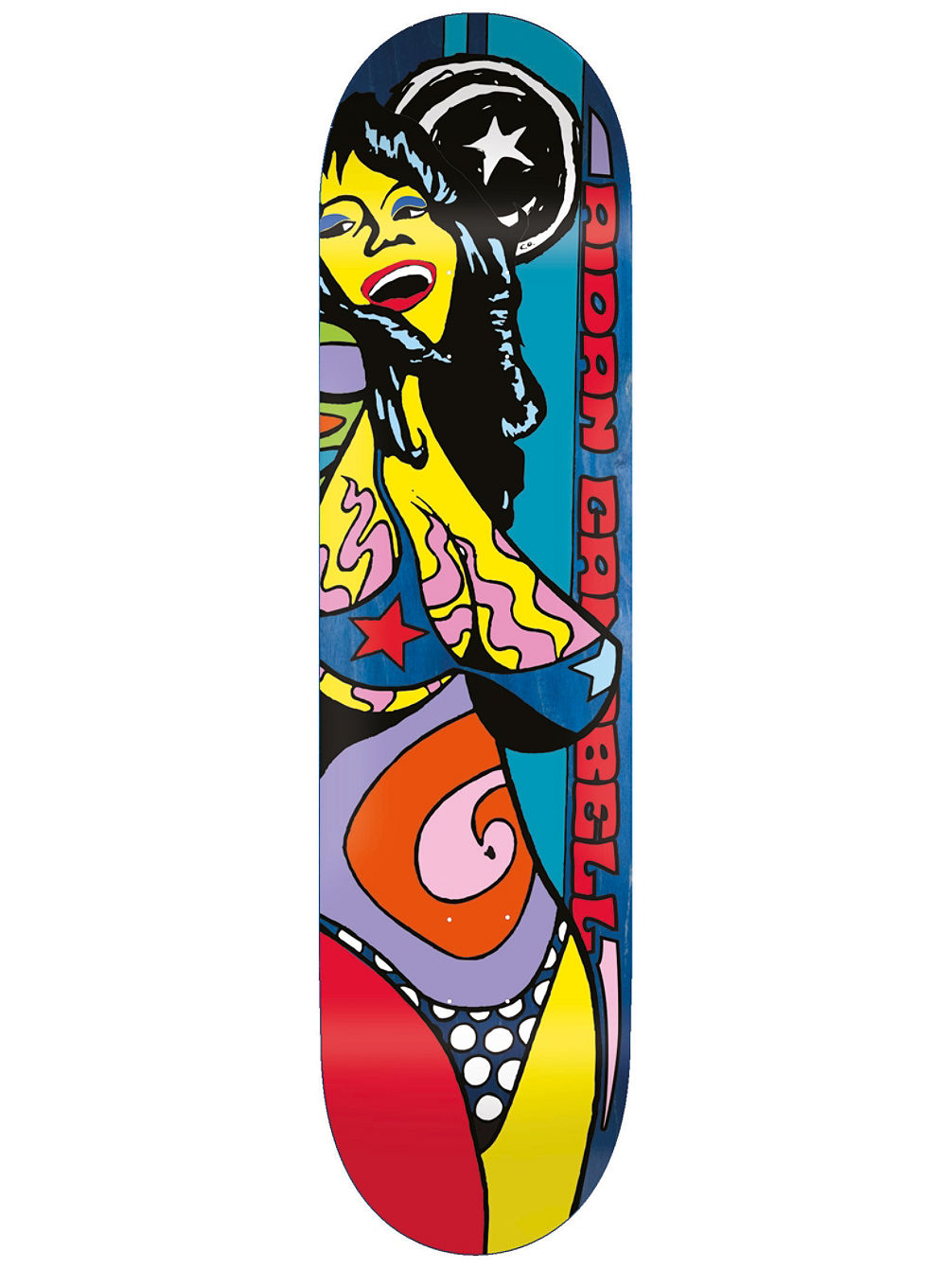 "Campbell Color Of Women 8.375"" Skate Deck"