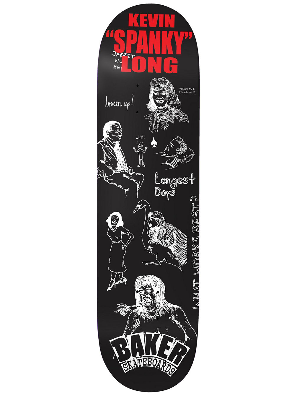 "Spanky Good Days 8.25"" Skate Deck"