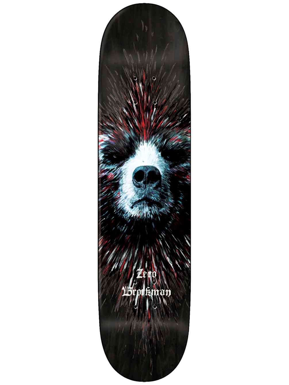 "Brockman Bear Impact Light 8.0"" Skate Deck"