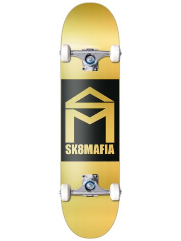 SK8 Mafia House Logo Gold Double Dip 8'' x 32'' Comple