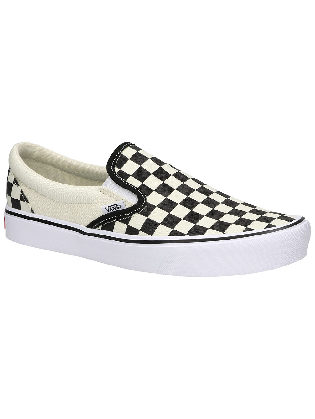 Checkerboard Light Slippers